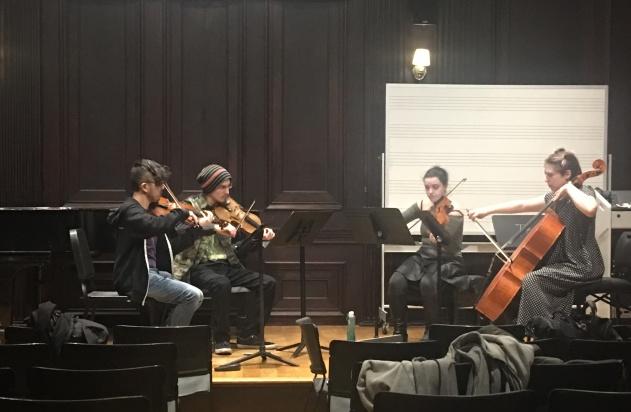 SEAMUS rehearsal